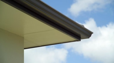 Eclipsa Eaves Lining - Eclipsa Eaves Lining 2 angle, cloud, daylighting, daytime, facade, line, roof, shade, sky, white, brown