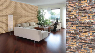 1. Bricks are a natural product and as brick, floor, flooring, hardwood, home, interior design, laminate flooring, living room, loft, property, real estate, tile, wall, wood, wood flooring, gray