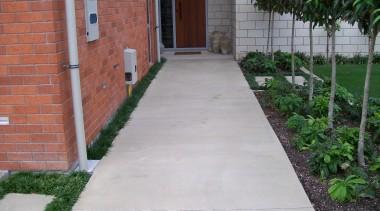 Overlay_2 - backyard | brick | brickwork | backyard, brick, brickwork, courtyard, driveway, garden, grass, house, landscaping, path, porch, real estate, road surface, sidewalk, walkway, yard, gray
