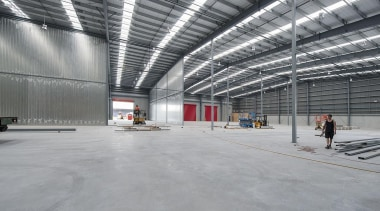 MERIT WINNERFLEX (2 of 4) - Trends Publishing daylighting, hangar, structure, warehouse, gray