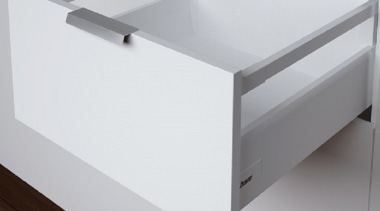 The HSS model from Harn Ritma features a angle, bathroom sink, drawer, furniture, product, product design, table, tap, gray