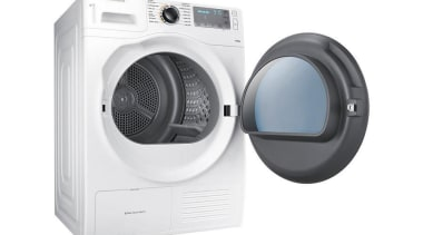 Laundry- Dryer DV90H8000HW/SADesigned to look as good as clothes dryer, home appliance, laundry, major appliance, product, product design, white