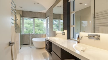 Nicholas Murray Architects – Highly Commended bathroom, estate, floor, interior design, property, real estate, room, window, gray