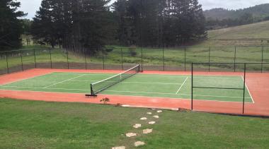 Sport - area | ball game | grass area, ball game, grass, leisure, net, sport venue, sports, structure, tennis court, green
