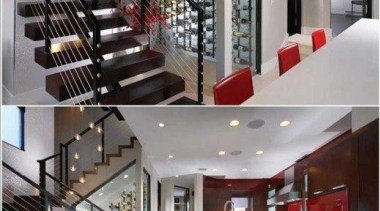 Modern Wine Cellar Ideas - Modern Wine Cellar ceiling, glass, handrail, interior design, lobby, property, stairs, gray