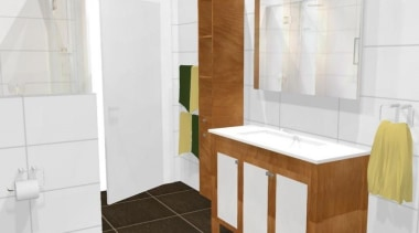 Have a closer look at this collection of bathroom, bathroom accessory, bathroom cabinet, floor, interior design, product, room, tile, white
