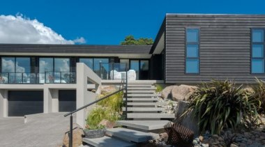 ADNZ Waikato Region Award Winner for Addition and architecture, building, cottage, elevation, facade, home, house, property, real estate, residential area, siding, window, gray