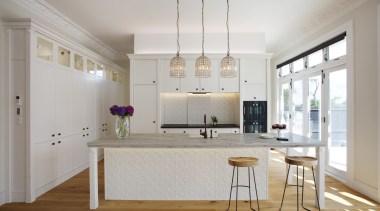 Mount Eden Kitchen - Mount Eden Kitchen - ceiling, floor, home, interior design, kitchen, real estate, room, wall, gray