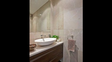 Our designs can take form even in small bathroom, ceiling, floor, home, interior design, property, room, sink, tile, black, gray