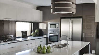 Kitchen design. - The Element Display Home - countertop, cuisine classique, home appliance, interior design, kitchen, gray