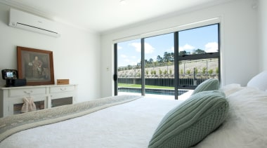 For more information, please visit www.gjgardner.co.nz bedroom, estate, home, interior design, property, real estate, room, window, white