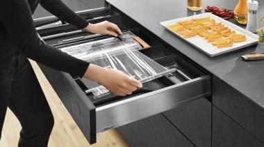 AMBIA-LINE kitchen accessories – organization at its best. cuisine, furniture, kitchen, kitchen appliance, product design, table, black