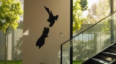 Remuera House - Remuera House - glass | glass, house, wall, window, brown