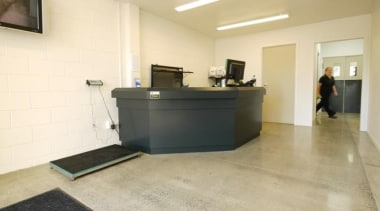 Waikato Veterinary Hospital - Waikato Veterinary Hospital - floor, flooring, interior design, office, property, real estate, orange