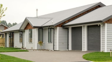 Christchurch showhome - Christchurch showhome - cottage | cottage, elevation, estate, facade, farmhouse, home, house, property, real estate, residential area, roof, siding, window, white