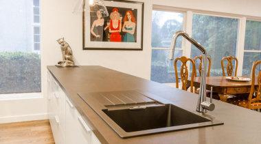 Pepper Design - Poggenpohl kitchen with Matt Lacquer countertop, interior design, kitchen, sink, table, white