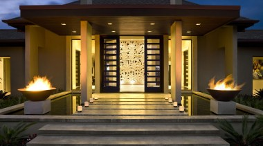 Bale 2 - estate | facade | home estate, facade, home, landscape lighting, lighting, outdoor structure, real estate, black, brown