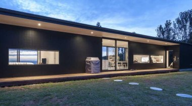 Design by Yellowfox - Cb 6531393289336050 - facade facade, home, house, property, real estate, siding, window, black