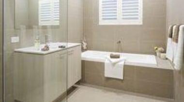 Ichijo Homes Ginger - Ginger™ - bathroom | bathroom, floor, flooring, interior design, real estate, room, sink, tile, gray