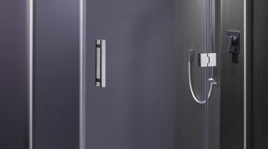 Designed specifically for modern New Zealand bathrooms, the angle, plumbing fixture, shower, shower door, gray, black
