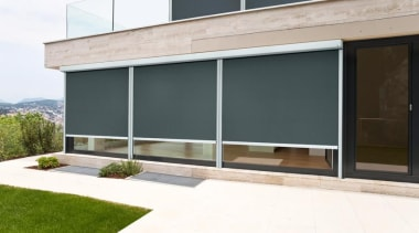luxaflex evo cable awning - luxaflex evo cable architecture, door, facade, house, real estate, shade, window, white