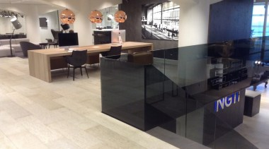 Concreate NGTI 01 - Concreate_NGTI_01 - countertop | countertop, floor, flooring, interior design, lobby, table, tile, wood flooring, white