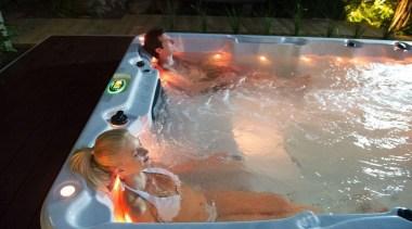 Galaxy Swim Spas fun, hot tub, jacuzzi, leisure, swimming pool, water, black, gray