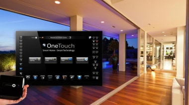 OneTouch is a fantastic addition to any modern electronics, interior design, technology, orange