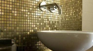 For more information, please visit Casa Italiana bathroom, ceramic, floor, flooring, interior design, room, tile, wall, brown