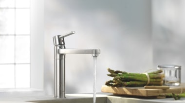 Kludi Zenta 03 - Kludi Zenta 03 - plumbing fixture, sink, tap, white, gray