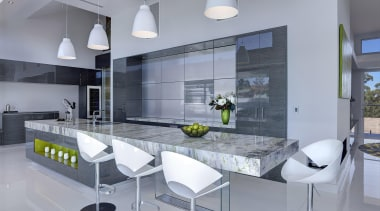 Winner Kitchen Design fo the Year 2013 South architecture, countertop, house, interior design, interior designer, kitchen, product design, gray