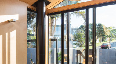 Takapuna, Auckland (designed in association with Rachael Rush) architecture, ceiling, daylighting, furniture, house, interior design, living room, real estate, window, orange