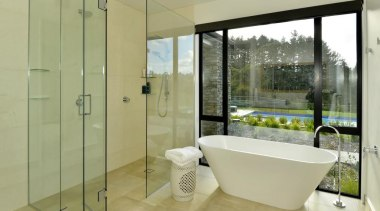 28.jpg - architecture | bathroom | glass | architecture, bathroom, glass, interior design, real estate, window, yellow