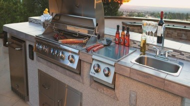 View the Bull Inbuilt BBQ Range Here barbecue grill, countertop, kitchen, kitchen appliance, outdoor grill, gray
