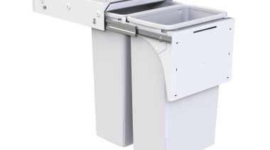 Model SC240D-W - 2 x 40 litre buckets. furniture, product, product design, white