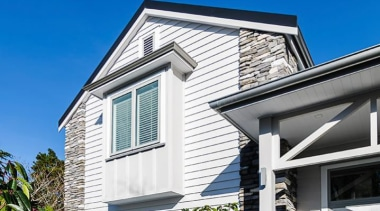 Simpler. Faster. Proven Weathertight. - A-lign Concealed Fix building, daylighting, elevation, facade, home, house, property, real estate, residential area, roof, siding, window, white, blue