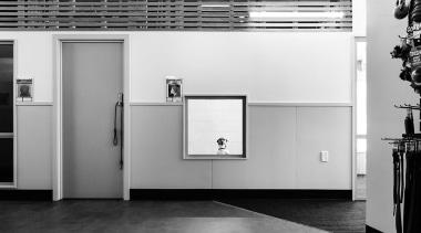 MERIT WINNERSPCA Wellington (3 of 4) - Hawkins architecture, black, black and white, floor, home appliance, interior design, monochrome, monochrome photography, product design, wall, white, white, gray