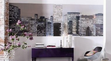 Metropolitain Interieur - Italian Color Range - furniture furniture, interior design, shelving, wall, gray