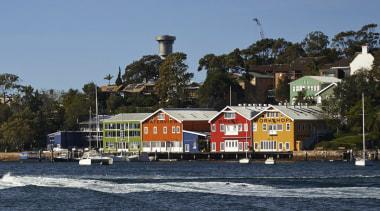 NIGHTINGALE AWARD  The Resene Total Colour Master coast, house, shore, tree, water, black, teal