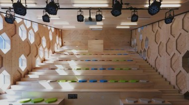 Library Extension - Library Extension - floor | floor, flooring, furniture, interior design, table, wall, wood, brown, gray
