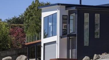 Landmark Homes Design & Build - Landmark Homes building, cottage, elevation, facade, home, house, property, real estate, siding, window, black
