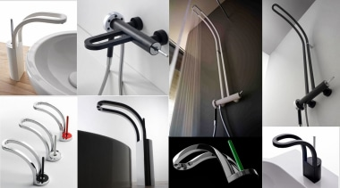 Trenz 05 - plumbing fixture | product | plumbing fixture, product, product design, tap, white, black
