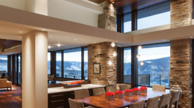 Wilner at Avon, Colorado - Wilner at Avon, ceiling, dining room, estate, flooring, hardwood, interior design, living room, real estate, table, wood, wood flooring, brown