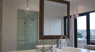 IL Design – Finalist - 2015 Trends International bathroom, bathroom accessory, glass, home, interior design, room, sink, window, gray