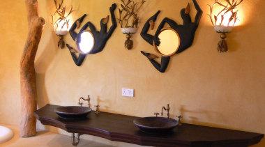 Micro colour 40 - Micro_colour_40 - furniture | furniture, interior design, lighting, room, table, wall, orange, brown