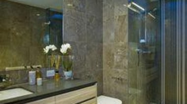 Toni Packer Design Raven - Raven™ - bathroom bathroom, home, interior design, property, real estate, room, wall, gray, brown