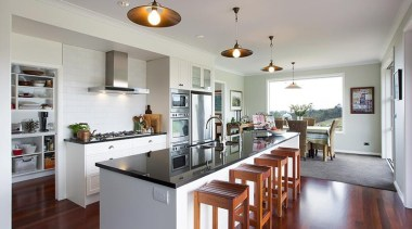 Fowler Homes Tauranga.Gold reserve winner and National finalist countertop, interior design, kitchen, real estate, room, gray