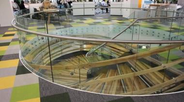 Spiral Staircase - Spiral Staircase - floor | floor, leisure, leisure centre, structure, urban design, gray