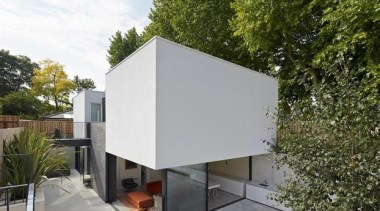 The Garden House, London, United KingdomDe Matos Ryan architecture, facade, home, house, real estate, roof, gray, brown