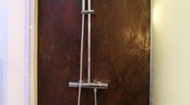 Laminam - bathroom | plumbing fixture | shower bathroom, plumbing fixture, shower, wall, red